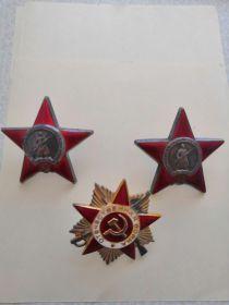 орден «Отечественной войны 2-й степени».