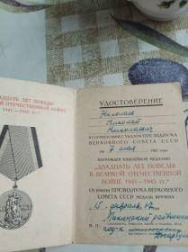 Двадцать лет победы Великой Отечественной войне