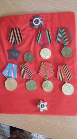 Ордер Отечественной войны медаль за Победу над Германией
