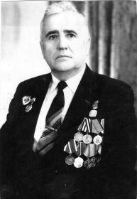 Награждён Орденом Отечественной войны 2-й степени, медалью  и ещё шестью медалями!
