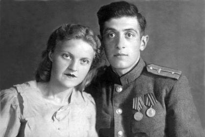 """2 медали """"За боевые заслуги"""" (одна номерная), «За оборону Москвы», «За победу над Германией». Орден Отечественной войны II степени."""
