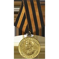 медаль за Победу над Германией в Великой Отечественной войне 1941-1945гг