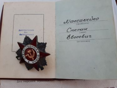 Орден ВОВ 1 степени и другие