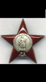 Орден Красной Звезды, Орден Отечественной Войны, Гвардейский знак