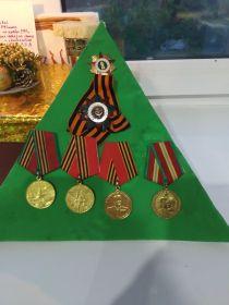Орден славы 3 степни орден отечественной войны 2 степени
