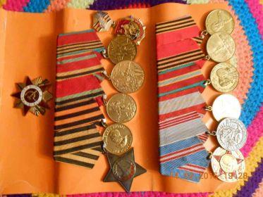 орден славы третей степени.орден отечественной войны