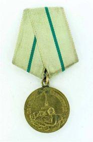 "Медаль ""За оборону Ленинграда"" - приказ ВС Ленинградского фронта 1944 год."