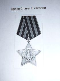 орден Славы III- степени