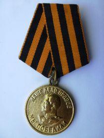 Медаль За победу над Германией (09.05.1945)