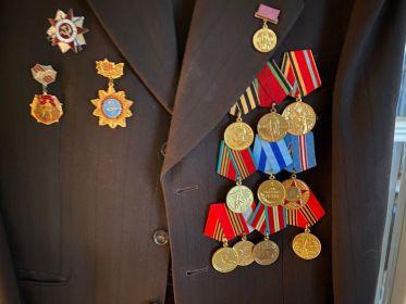 """Орден """"Великой Отечественной Войны"""", медаль """"За взятие Вены"""", за """"Победу над Германией"""","""