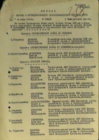 Орден Отечественной войны 2 ст.