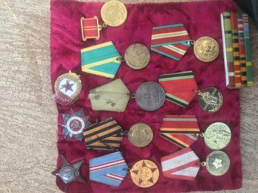 Все медали и награды