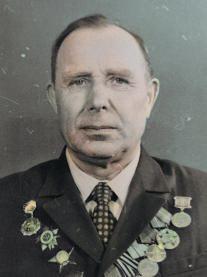 Медаль «За оборону Ленинграда» Орден Отечественной войны II степени Орден Красной Звезды Медаль «За победу над Германией в Великой Отечественной войне 1941–1945 гг.»