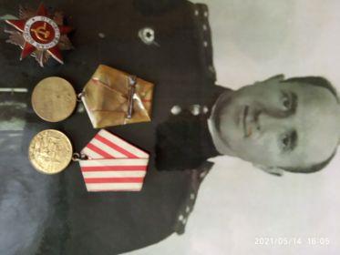 Часть наград были отданы в гос. центральный музей современной России орден красной звёзды, орден отечественной войны 2 степени, медаль за битву под сталинградом