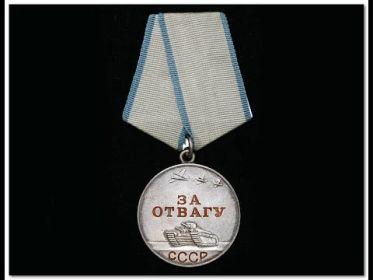 Медаль За отвагу, Орден Великой Отечественной войны-II ст, Медаль За оборону Москвы и др.