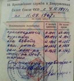 удостоверение личности офицера 1