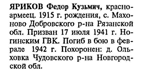 Книга памяти. Московская область. Том 16 ч.2