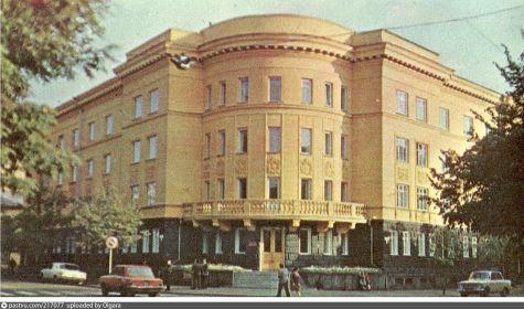 г. Ярославль, ул. Советская д. 9/11. Здание, в котором формировалась 234-я Ярославская Коммунистическая стрелковая дивизия.