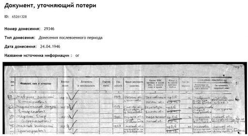 ОБД Мемориал Маяков НГ без вести 1946.JPG