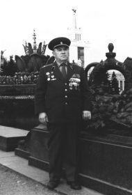 подполковник  танковых войск в отставке - 1983 г.