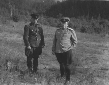 с братом- генерал-полковником Бирюковым Николаем Ивановичем