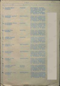 Акт 186 .Награждение медалью за оборону Кавказа