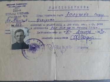 233 отдельная телеграфно строительная рота
