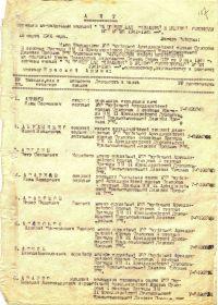 Акт От: 18.03.1946 Архив: ЦАМО Фонд: 9930 Опись: 1 Единица хранения: 78 № записи 1535458996