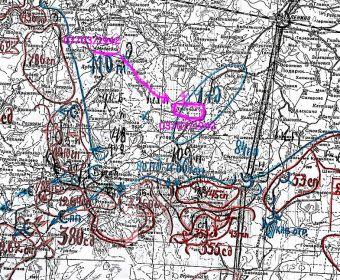 Карта 786 стрелковый полк март 1942 года
