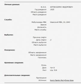 Книга Памяти Республики Коми