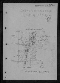 схема расположения кладбища 108с. д.