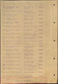 Акт вручения медали за оборону Ленинграда от 15.07.1943 (стр. 02)