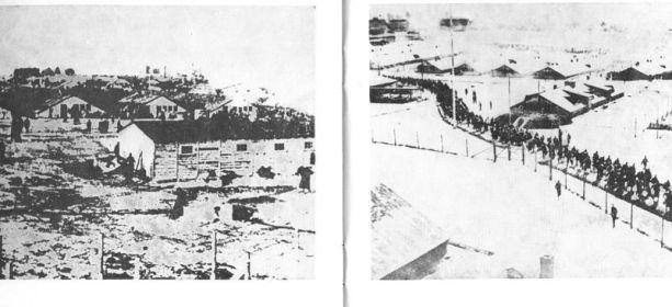 Шталаг-IБ, Хоенштайн. Зима 1942 года. Совсем недавно (в 1941 году) здесь умер мой дедушка. ( Фото с сайта http://sivokoz-kuzma.narod.ru/photo.html)