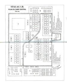 План лагеря Шталаг 1Б. Фото из свободного доступа сети Интернет