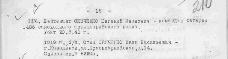 Архив из память народа