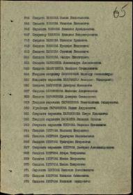 Указ Президиума Верховного Совета № 223/98 от 06.11.1947 (65 страница, №960 Парамонов П.А.)