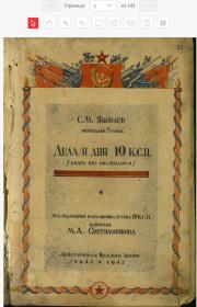 Обложка книги об истории 19сп