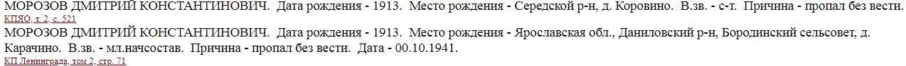 Книга ПАмяти Ярославской области