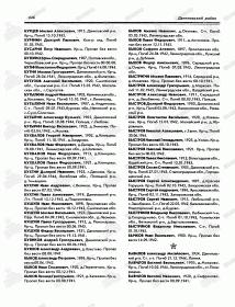 Информация из Книги Памяти Ярославской области