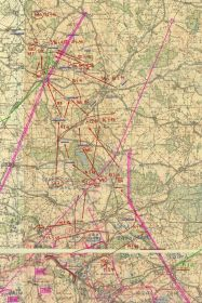 Отчетная карта с 13 по 22 февраля 1945г.