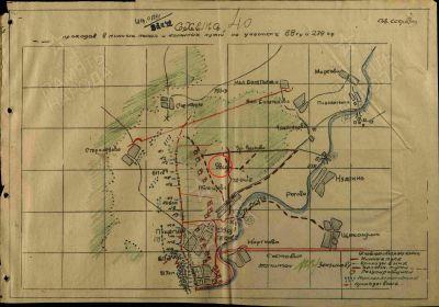 Дислокация 88 сд в ноябре 1942 г.