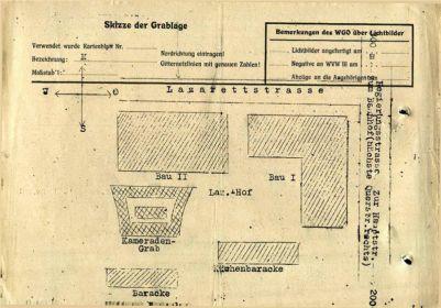 План схема немецкого лагеря