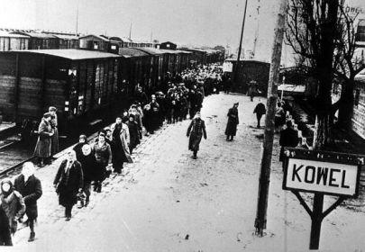 Город Ковель в дни фашистской оккупации 1943 года