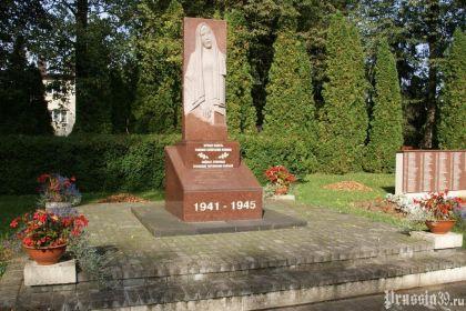 Воинское кладбище в деревне Лукшяй, Литва