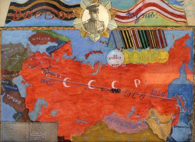 Боевой путь Мордашова Бориса Тихоновича
