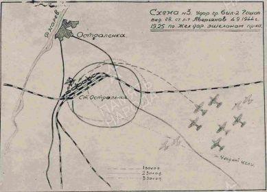 Схема 04.09.1944г.