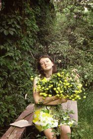 Внучка Наталья. 1972 год.