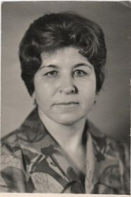 Дочь Мария Блохина (Полякова)