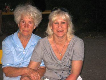 Я с мамой, дочерью Ивана Васильевича.