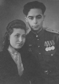 Моя бабушка с моим дедом Лившиц Владимир Константинович